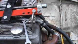 How to take the engine and gear box out of a 1972 mgbgt