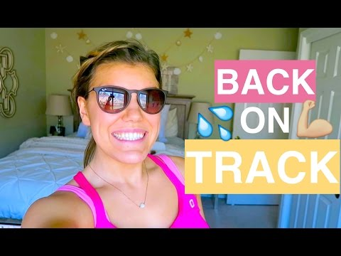 HOW TO GET BACK ON TRACK! // vlogust day 1