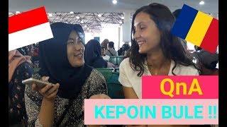 Bule makan TEMPE tiap hari ?!? | 8 Pertanyaan Buat Kepoin Bule