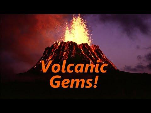 Finding Volcanic Gems - Peridot Opal Agate - B.C. Canada