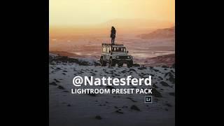 @nattestford   Premium Lightroom preset pack.