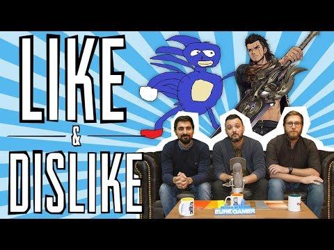 LIKE & DISLIKE: Sanic, un poco más de PUBG, el QLED de Samsung, Final Fantasy XV...