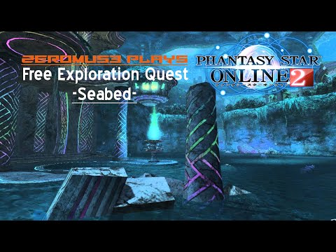Zeromus3 Plays Phantasy Star Online 2 Seabed- Free Exploration