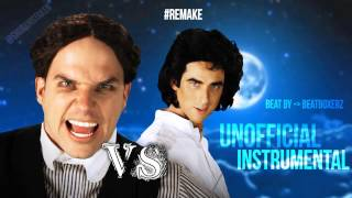 #Remake 〈 Unofficial Instrumental 〉 David Copperfield vs Harry Houdini | ERB Season 4