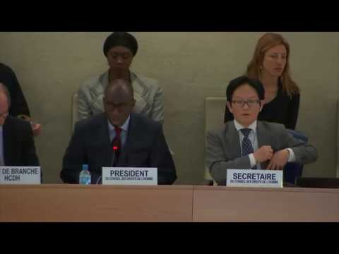 China's Jiang Duan Defends Persecution Of Uighurs At UNHRC