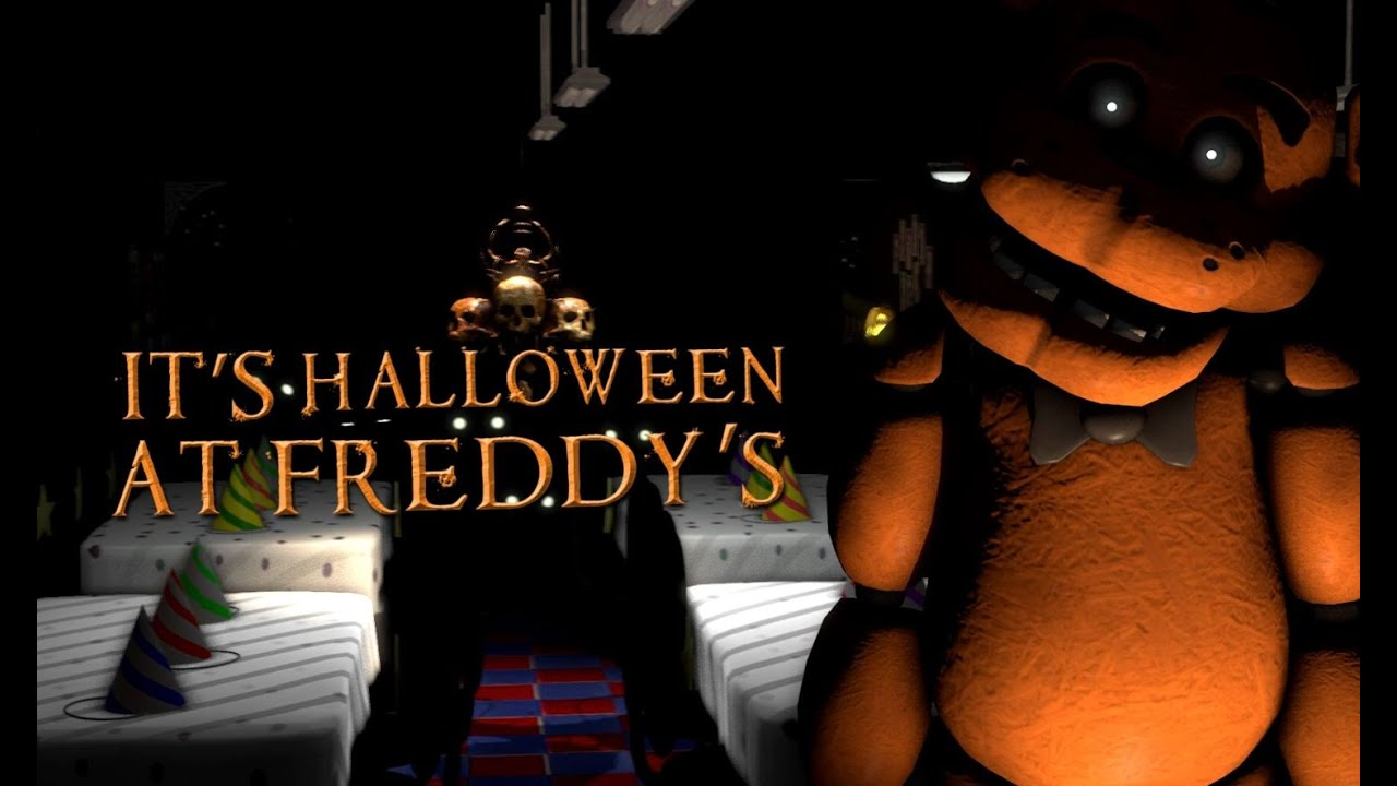 Halloween at Freddy's - TryHardNinja ANIMATED LYRIC VIDEO - YouTube