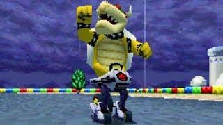 Mario Kart DS - 150cc Blatt-Cup (Bowser-Gameplay)