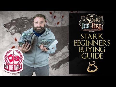 Buying your first House Stark unit expansion in A Song of Ice and Fire the Miniatures Game