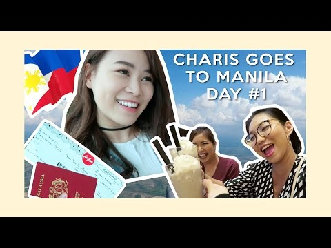 Charis Goes To Manila (Day 1)