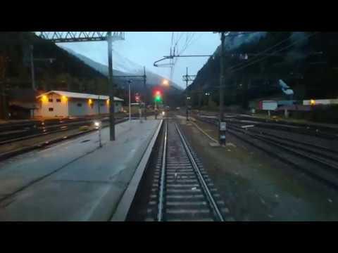 Brenner Line. Cab view, part 1: Brenner–Franzensfeste.