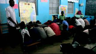Prayer time at Village of Hope Primary School