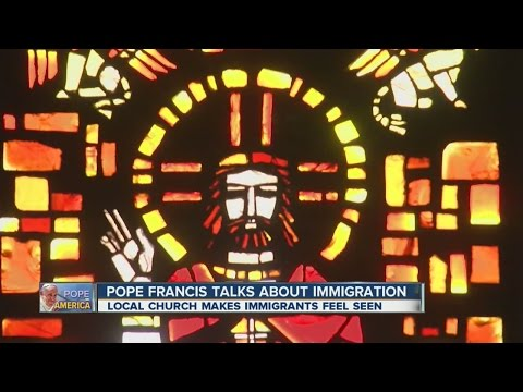 Pope Francis talks immigration in Washington, D.C.