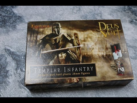 Unboxing Templar Infantry Fireforge games