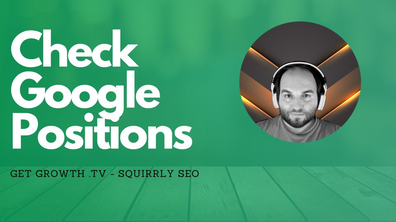 How to Check Your Position on Google - YouTube