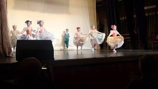 Финская полька. Ievan polkka. Хореографический класс шк. № 59, «Гранд Балет» 2013 г.