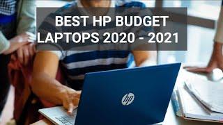 Best HP Budget Laptops 2020 - 2021
