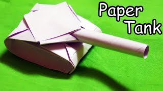 How to make a Paper Tank | Easy | Tutorial
