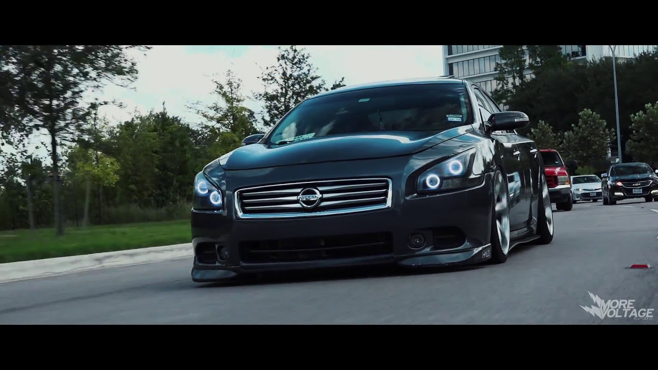 Bagged Nissan Maxima A35 More Voltage Films 1