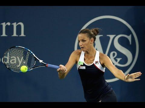 2017 Western & Southern Open Second Round | Karolina Pliskova vs Vikhlyantseva | WTA Highlights