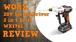 Worx 20V Switchdriver WX176L Review