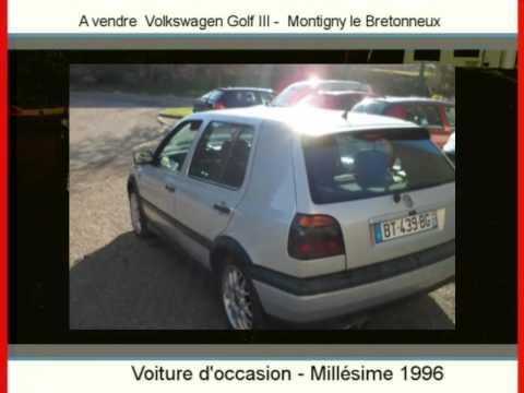 Achat Vente Une Volkswagen Golf Iii Montigny Le Bretonneux
