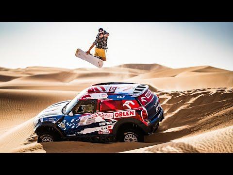 Dune Shredding - Snowboarding in the Desert