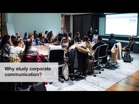 Why corporate communication
