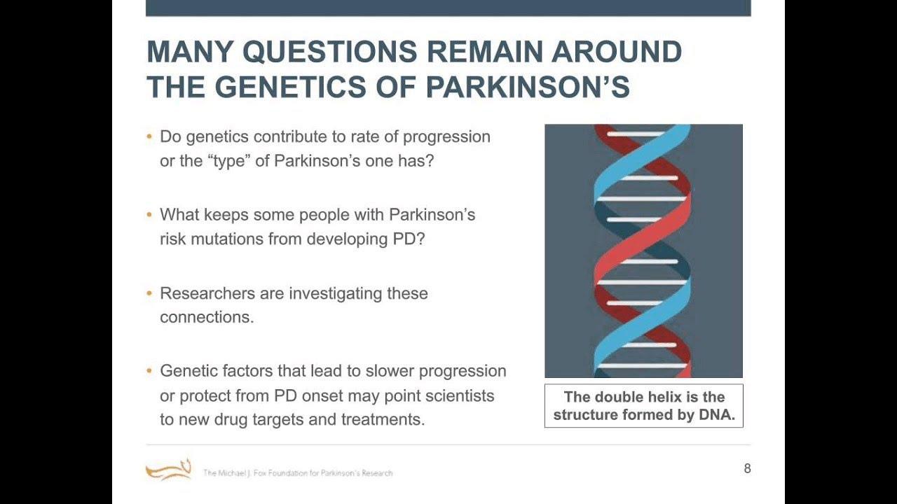 "Webinar: ""How Much of Parkinson's Is Genetic?"" February ..."