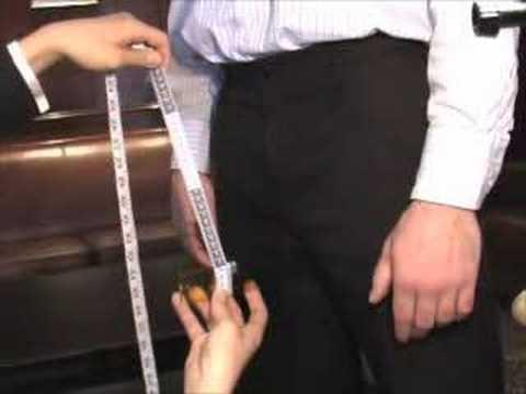 9) Pant Rise Measurement