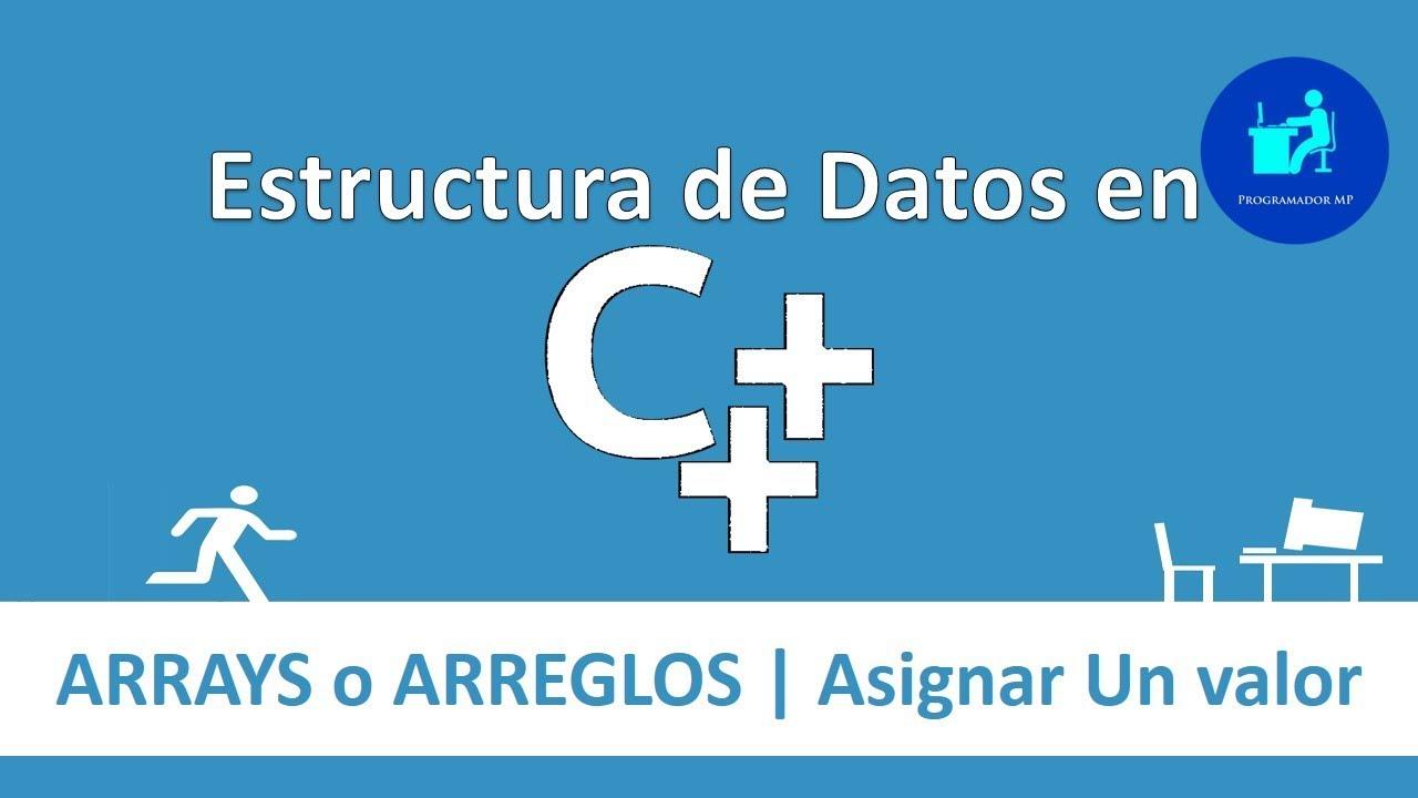3 Estructura De Datos En C Arreglos 2 Asignar Valores A Un Arreglo