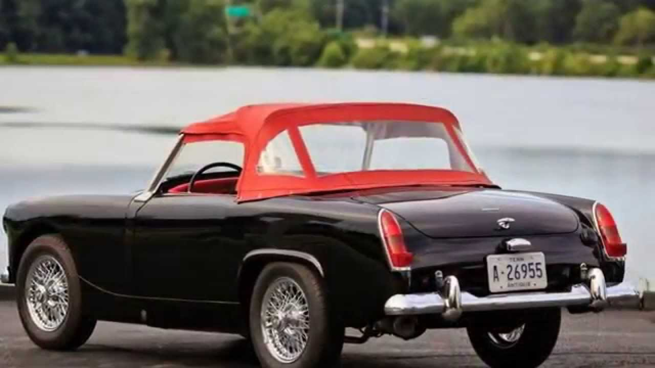 1963 Austin Healey Sprite Mark II  YouTube