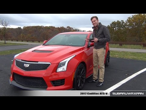 Review: 2017 Cadillac ATS-V (Manual)