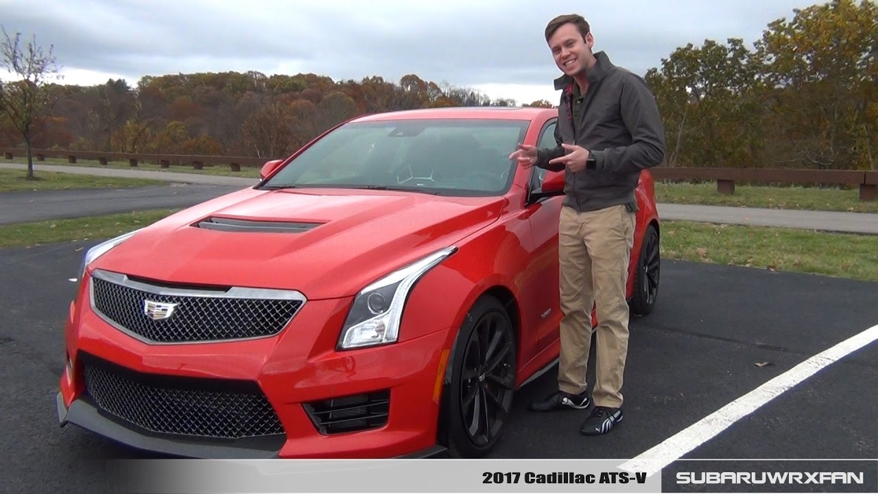 Review: 2017 Cadillac ATS-V (Manual) - YouTube