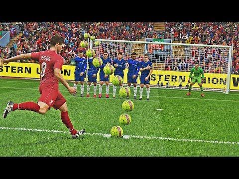 PES 2019 - Knuckleball Free Kick Compilation #10 HD PS4 PRO