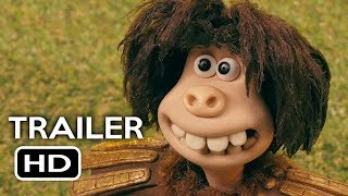 Early Man Official Trailer 2 2018 Eddie Redmayne Tom Hiddleston Animated Movie HD