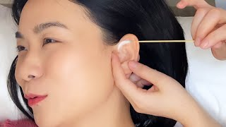 ASMR The most hygienic and comfortable ear cleaning