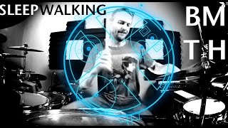 Bring Me The Horizon - Sleepwalking - Johnkew Drum Cover