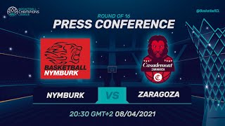 ERA Nymburk v Casademont Zaragoza - Press Conference | Basketball Champions League 2020/21