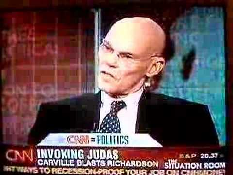 James Carville in the Situation Room
