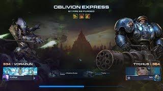 StarCraft 2 Co-op Brutal Mutation - By Fire be Purged (Vorazun + Tychus)
