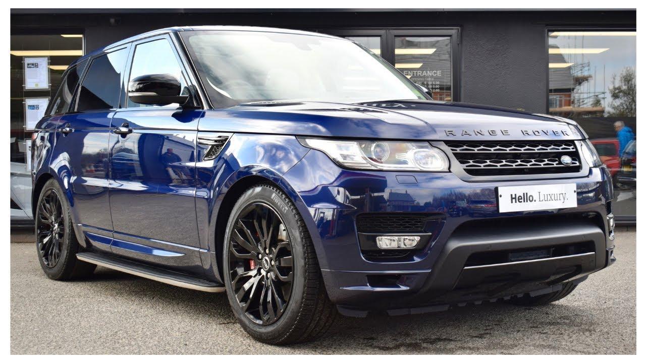 Range Rover Vs Range Rover Sport >> Loire Blue Range Rover Sport 3.0 SDV6 Autobiography Dynamic - YouTube