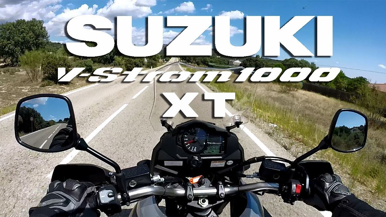Suzuki V-Strom 1000 XT 2017 Primeras impresiones