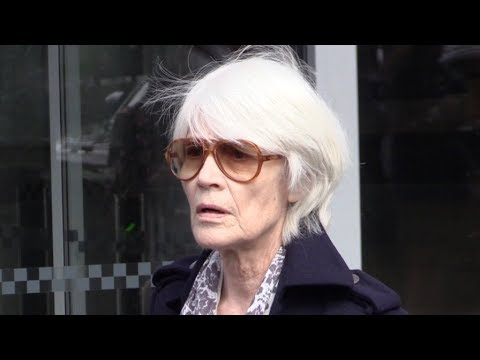 EXCLUSIVE : Françoise Hardy at RTL radio station in Paris
