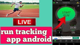 run tracker app kaise use kare || how to use run tracker app || best free run tracking app || screenshot 5