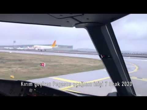 Pegasus Airlines Skid-off Runway at Istanbul while Landing