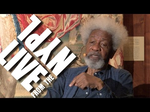 Wole Soyinka on the odd complexity of Nigeria, with Chris Abani | LIVE from the NYPL
