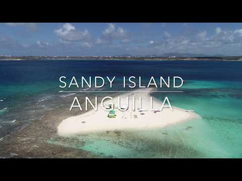 4K - #kitesurfing on #Sandy Island #anguilla   - 1 of 2