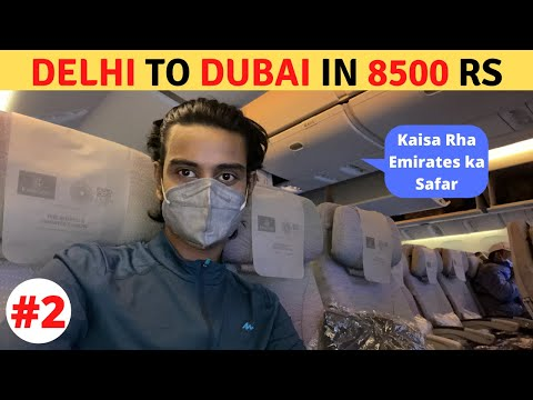 DELHI to DUBAI in Emirates (Only Rs 8500) || Visa || Immigration