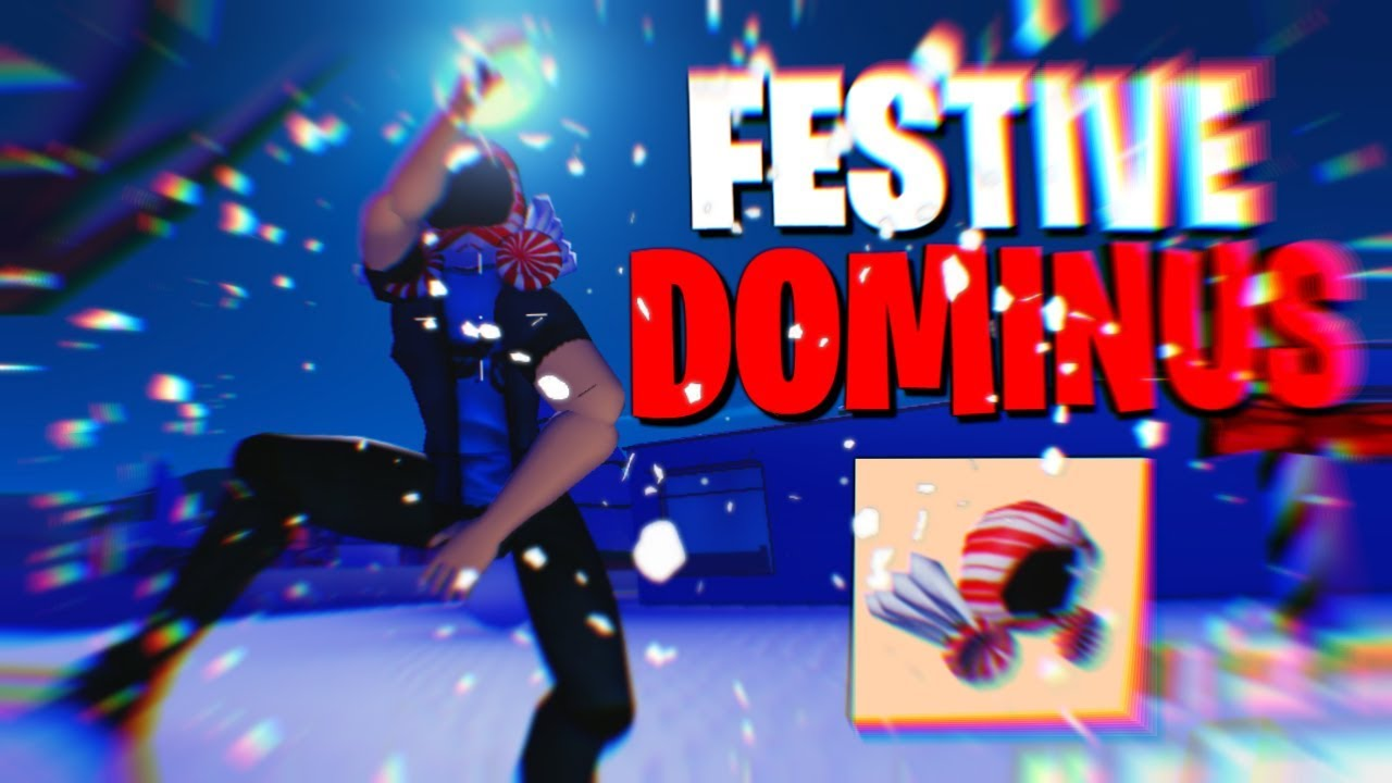 festive dominus    hat strucid roblox