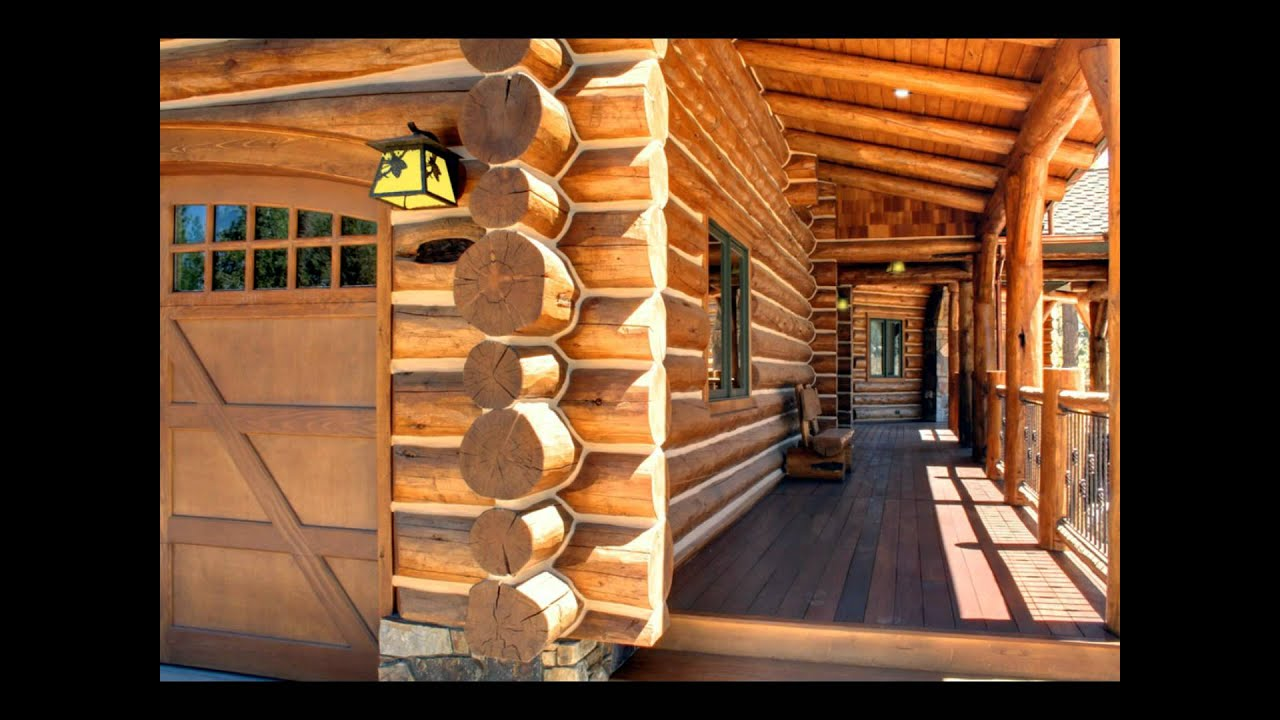 handcrafted log homes crafted by pioneer log homes youtube. Black Bedroom Furniture Sets. Home Design Ideas